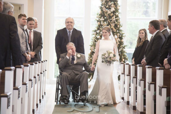 bride dances with terminally-ill father