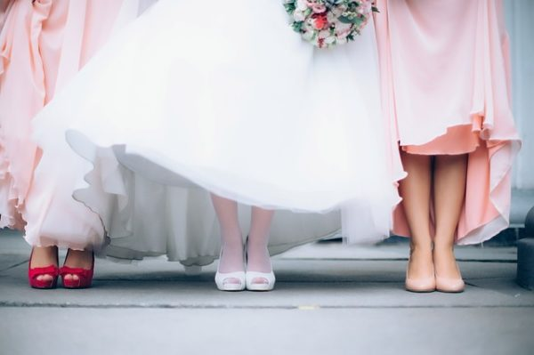 wedding party and their roles