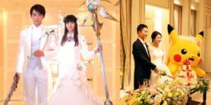 final fantasy doraemon wedding
