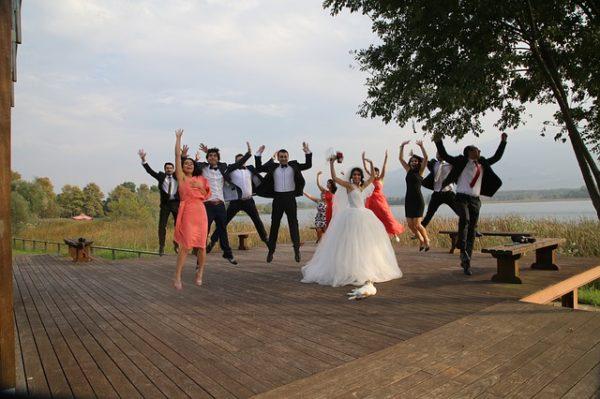 keep your big wedding intimate