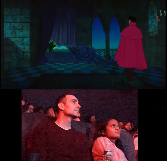 """Guy Creates Special """"Sleeping Beauty"""" Film For Proposal"""