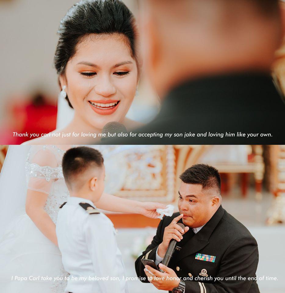 wedding vow for bride's son
