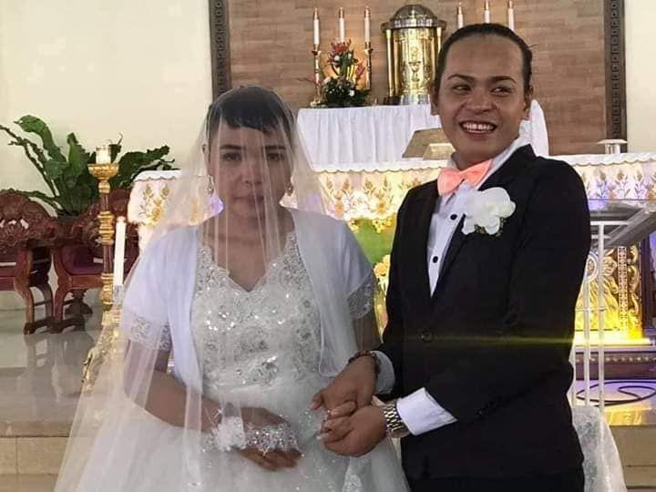 gay marries lesbian